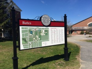 Bates College Campus Map